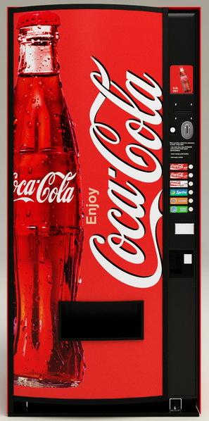 Coke vending machine uk