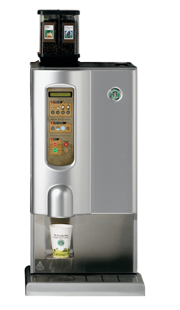 One Cup Starbucks Coffee Maker : Bean To Cup Brewers - US Coffee - Office Coffee Service - NYC, NJ, Brooklyn, Long Island