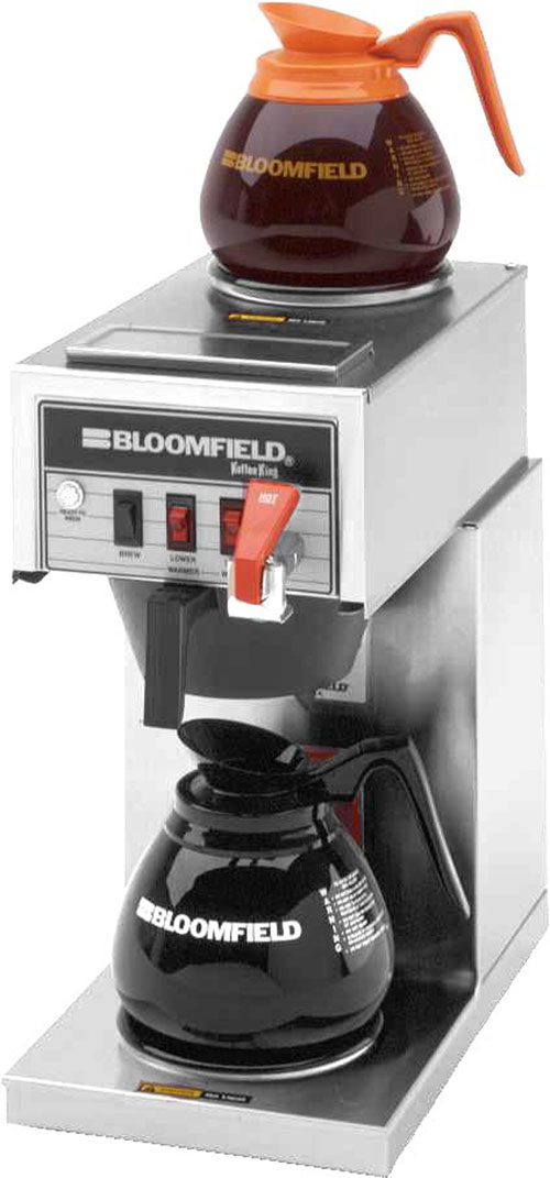 Bloomfield Coffee Maker Parts Manual : Glass Pot Brewers - US Coffee - Office Coffee Service - NYC, NJ, Brooklyn, Long Island